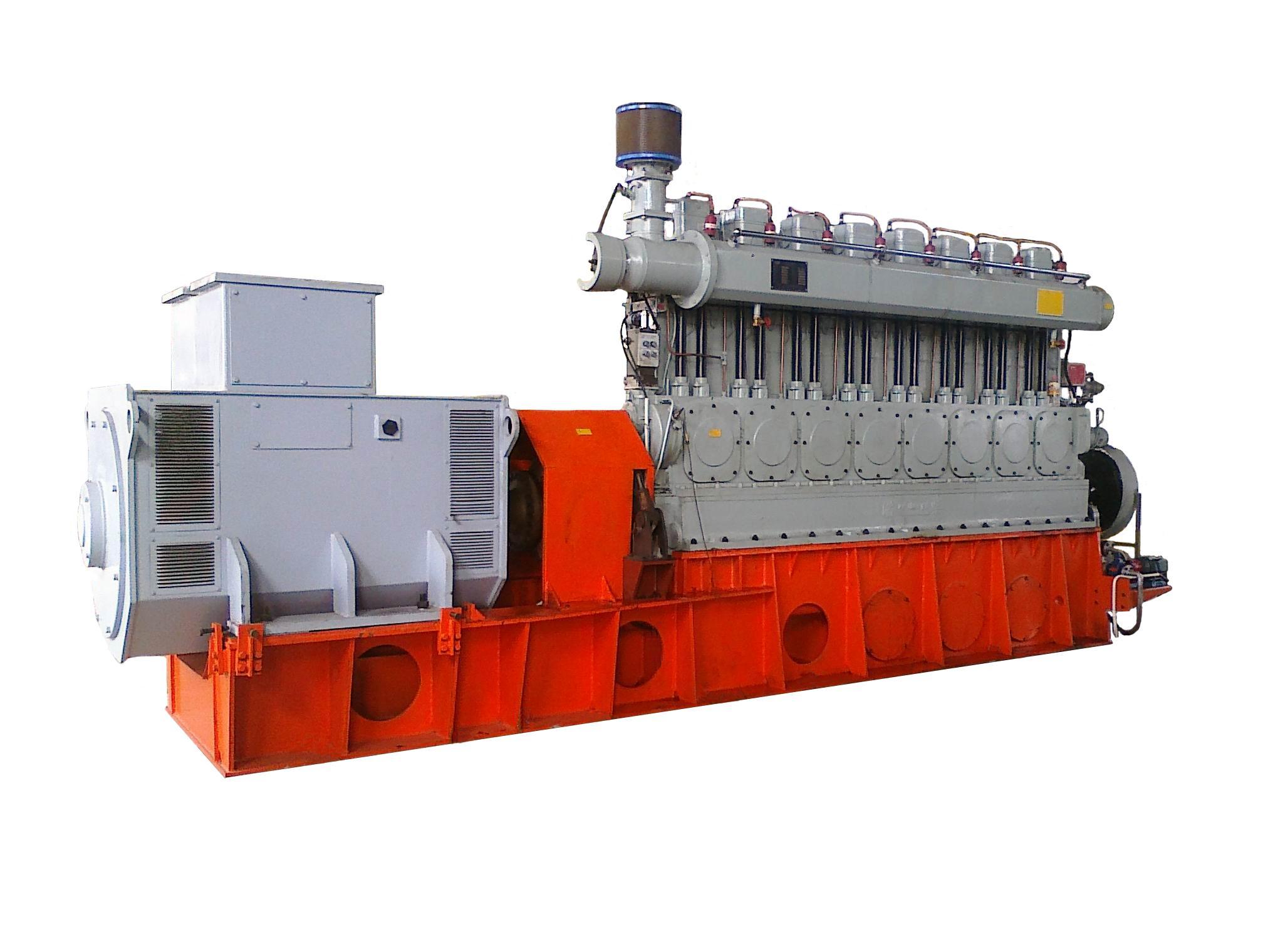 淄柴新能源公司300系列燃气发电机组